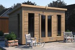 10x10'Don Morris' Wooden Garden Room/Shed/Summerhouse, Heavy Duty, Tanalised