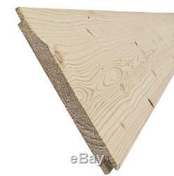 10x5 Garden Shed Shiplap Pent Roof Tanalised Pressure Treated Door Left