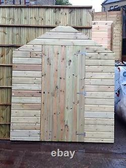 10x6 Pressure Treated Wooden Garden Shed Slight Seconds Fully T&G Tanalised Hut