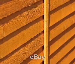 10x6 WOODEN GARDEN SHED APEX ROOF FELT WINDOW FLOOR DOUBLE DOOR STORAGE 10ft 6ft