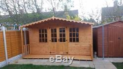 10x8 GARDEN SUMMER HOUSE, SHED, GEORGIAN, DEN