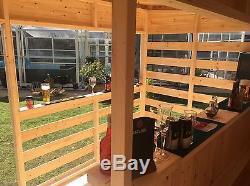 10x8 Garden Bar, Sports Bar, Man Cave, Shed Bar