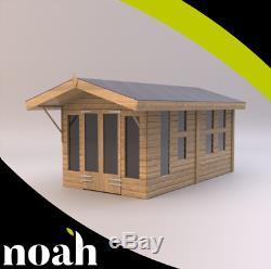 10x8'Oswald Summerhouse' Heavy Duty Wooden Garden Shed/Summerhouse/Garden Room
