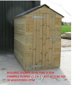 12' x 24' Heavy Garden Shed Timber shed VA031