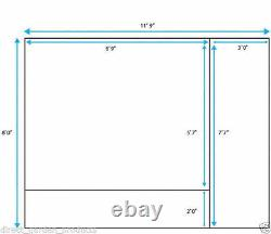 12ft x 8ft GARDEN SUMMERHOUSE TONGUE & GROOVE CLAD SIDE STORE SHED NEW Un Used