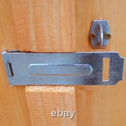 12x6 GARDEN SHED APEX ROOF FLOOR DOOR TIMBER WINDOWLESS WOOD TOOL BIKE STORE DIP