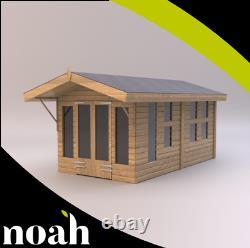 12x8'Oswald' Wooden Garden Room-Shed-Summerhouse Heavy Duty Tanalised Bespoke