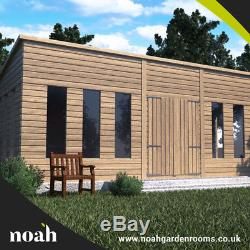 12x8'Statesman Mancave' Heavy Duty Wooden Garden Shed/Workshop/Summerhouse D&F