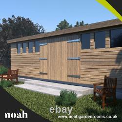 14x10'Don Marino' Heavy Duty Wooden Garden Shed/Workshop/Summerhouse