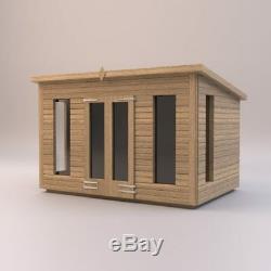 14x8'Don Morris' Wooden Garden Room Summerhouse-Studio-Shed Heavy Duty Bespoke