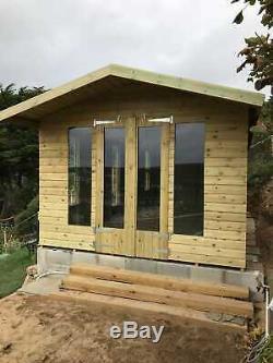 14x8'Oswald' Heavy Duty Wooden Garden Room Shed/Summerhouse/Studio Tanalised