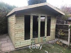 14x8'Oswald' Wooden Heavy Duty Tanalised Bespoke Garden Room/Shed/Summerhouse
