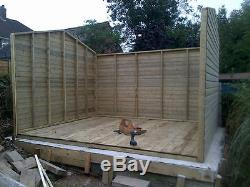 14x8ft Wooden Garden Apex Ultimate Shed/Workshop 19mm Tanalised 4ft Double Door