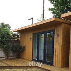 15SQM Garden Building Wooden Studio Log Cabin! ONLY 4 WEEKS WAITING TIME