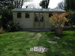 16 x 10 19mm Tanalised APEX DULUXE HEAVY DUTY Garden Room/shed Malvern range