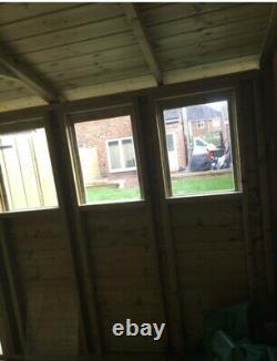 18x10'Drummond Workshop' Heavy Duty Wooden Garden Shed/Workshop/Summerhouse