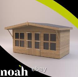 18x10'Lydian Summerhouse' Heavy Duty Wooden Garden Shed/Summerhouse