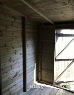 18x12'Frederick' Heavy Duty Wooden Garden Summerhouse/Shed/Workshop/Garage