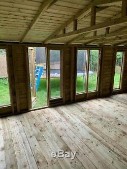20x10 Garden room/shop Shed studio workshop summerhouse heavy duty FREE INSTALL