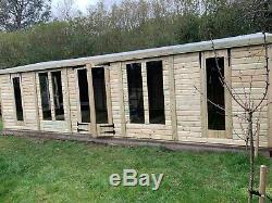 20x10 Garden room/shop Shed workshop summerhouse salon gym hideout FREE INSTALL