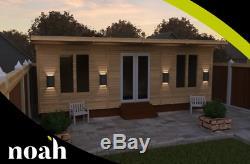 20x10'Norton Log Cabin' HeavyDuty Tanalised Wooden Garden Room/Summerhouse/Shed