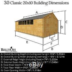 20x10 overlap wooden garden 2 doors workshop shed garden sheds windows building