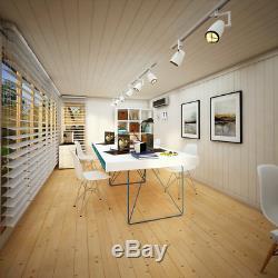 20x10 Pent Offset Evolution Insulated Composite Cladding Garden Shed Garden Room