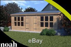 20x10'Winchester Garden Shed' Heavy Duty Wooden Shed/Workshop/Summerhouse