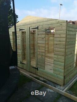 20x12 Studio, Tanalised, Shed, Garden, Free Install, Loglap, T&G