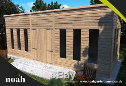 24x10'Statesman' Heavy Duty Garden Room Mancave Studio Office Building Bespoke
