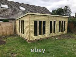 26x10'Statesman Mancave' Heavy Duty Wooden Garden Shed/Workshop/Summerhouse