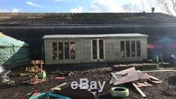 30 x 10 19mm t&g, studio, shed, workshop, garden room, any size, bespoke buildings