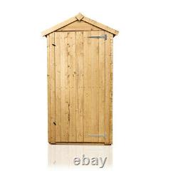 3x2 BillyOh Tongue and Groove Tall Sentry Box Outdoor Wooden Garden Storage Shed