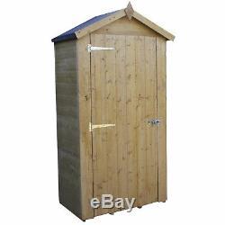 3x2 Budget Pressure Treated Shiplap Wooden Garden Shed Bike Store StorageNEW
