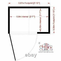 3x2 GARDEN TOOL SHED STORE TIMBER SINGLE DOOR APEX DIP TREATED FLOOR 3FT 2FT NEW