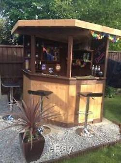 5ft corner garden bar pub entertaining area outdoor bar man cave