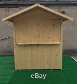 5ft x 3ft THE CHAMPIONS BAR, GARDEN SHED, MAN CAVE, T&G, QUALITY TIMBER