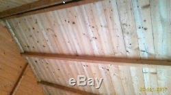 6.5 x 6.5 ft wooden summer house, chalet, garden shed, workshop