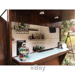 6 x 4 Apex Garden Bar Shed & Store 12mm Tongue & Groove Walls Key Lock Door
