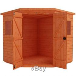 6 x 6 CORNER PENT GARDEN SHED FOR SALE HOME DELIVERY TO MOST AREAS