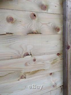 6x4 Pressure Treated Wooden Garden Shed Factory Seconds Fully T&G Tanalised Hut