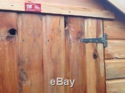 6x6 B-Grade T&G Wooden Garden Shed Factory Seconds Cheap Store Garden Hut