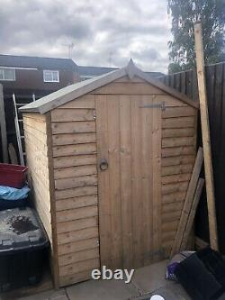 7 x 5 wooden garden shed