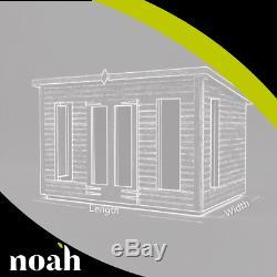 8x10'Don Morris' Heavy Duty Wooden Tanalised Garden Shed/Summerhouse/Studio