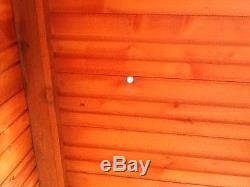 8x6 B-Grade T&G Wooden Garden Shed Factory Seconds Cheap Store Garden Hut