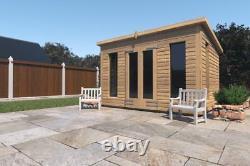 8x6'Don Morris' Wooden Garden Room/Studio/Summerhouse/Shed Heavy Duty