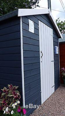 8x6 Painted Garden Shed Beach Hut She Shed Man Cave