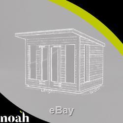 8x6'Roseberry Summerhouse' Heavy Duty Wooden Garden Shed/Summerhouse