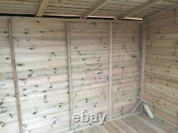 8x8 GARDEN HOT TUB SHELTER SHED SUMMER HOUSE CANOPY GAZEBO PAVILION
