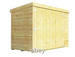 BillyOh Mini Master 6ft x 3ft Wooden Bike Store Garden Storage Shed